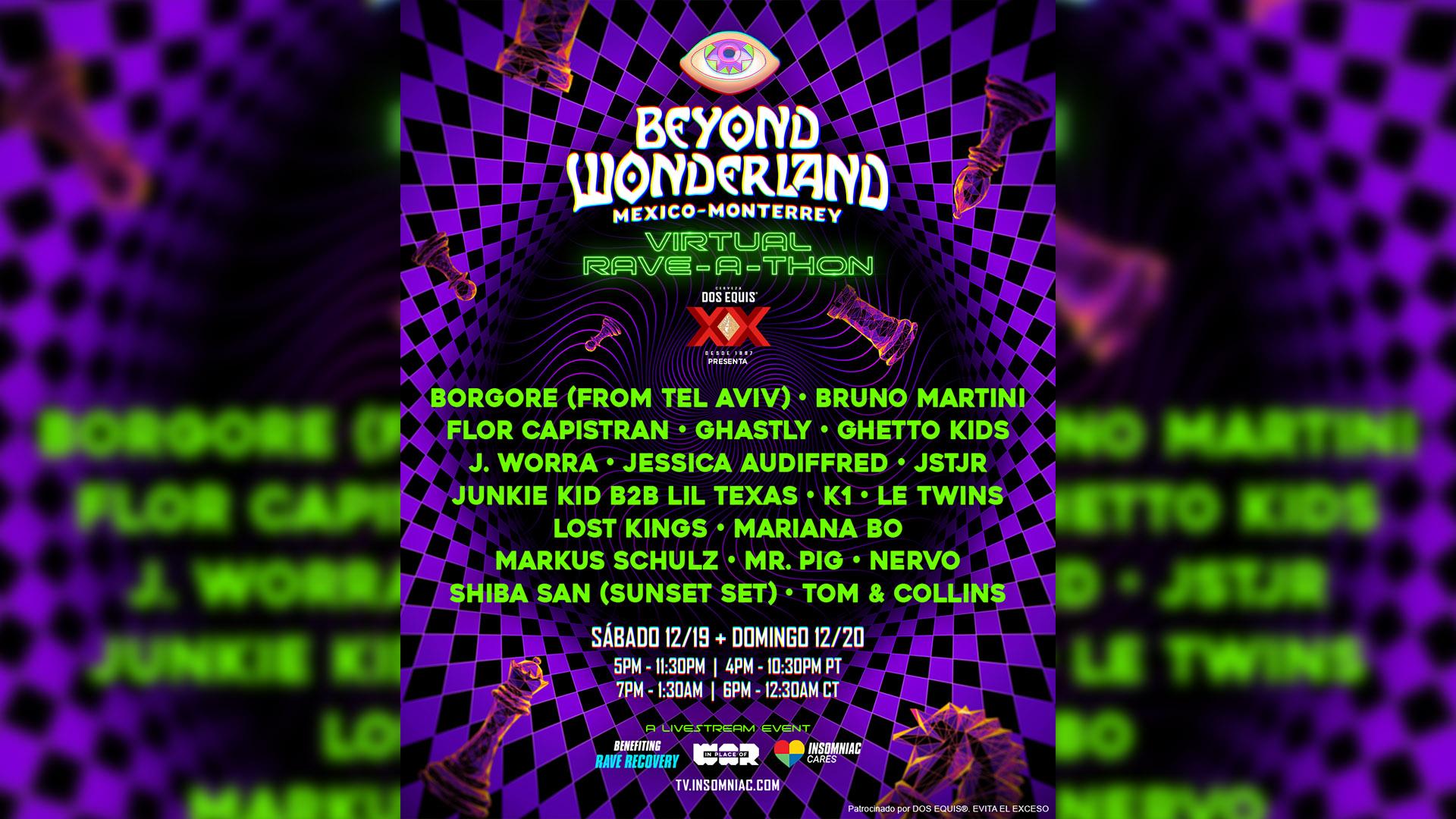 Beyond Wonderland - Monterrey
