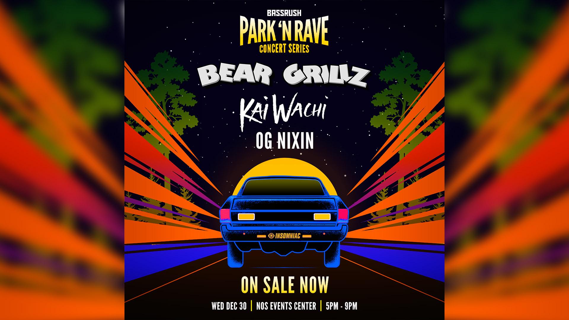 Park N Rave - Bear Grilz